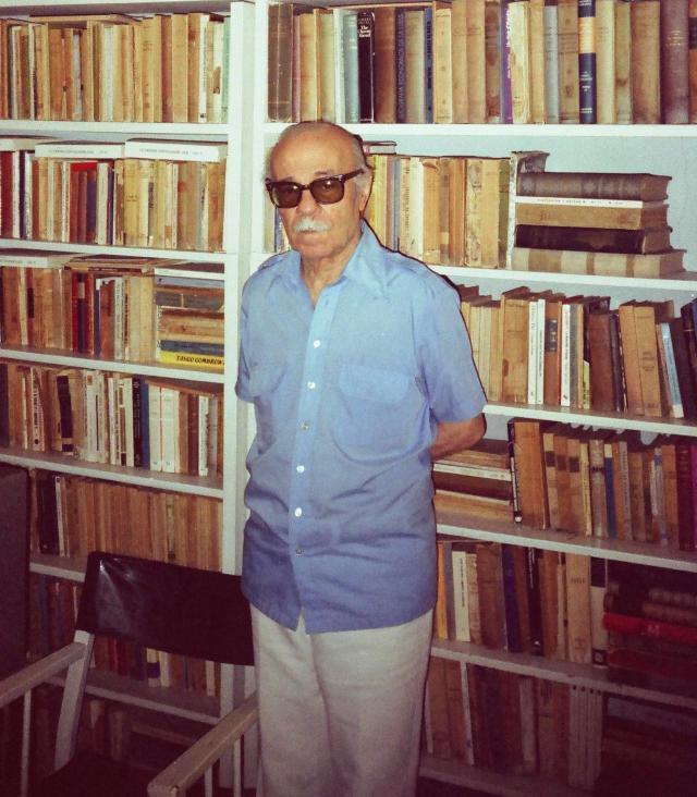 Ernesto Sábato. Foto del autor de esta nota.