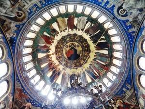 Vista interior de la cúpula de la Catedral Ortodoxa