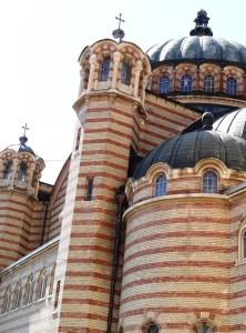 Catedral Ortodoxa de la Santísima Trinidad, vista parcial