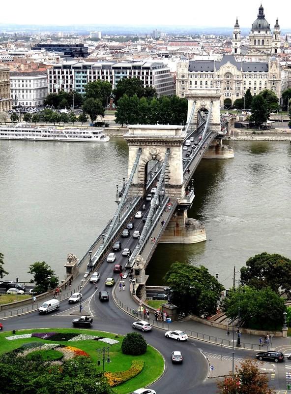 Szechenyi lanchid (Puente de las Cadenas)