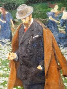 El elegante caballero, presumiblemente el propio Maximilian Lenz