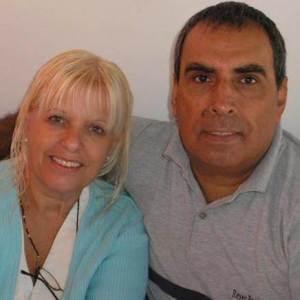 Nora y Oscar Allende