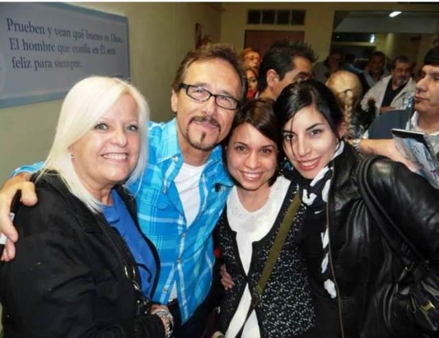 Nora de Allende, Rabito, Melina y Anabella Allende (2013)