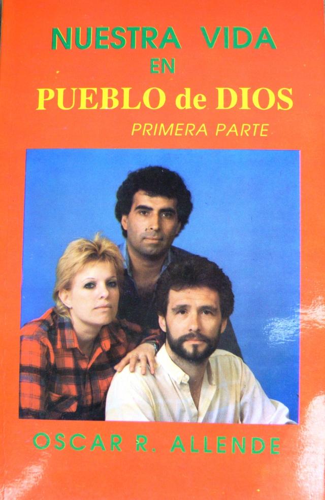 Tapa del libro Nuestra vida en Pueblo de Dios, escrito por Oscar Allende