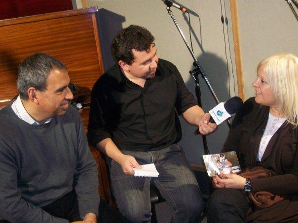Oscar y Nora Allende entrevistados por Ivan Rodríguez Devia