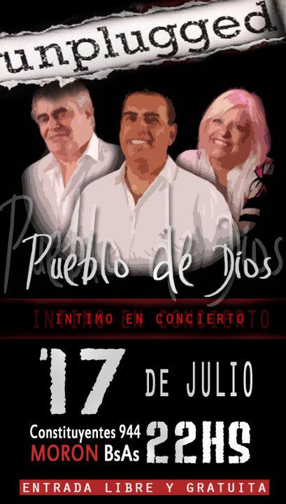 Rubén Lacrouts, Oscar y Nora de Allende, Pueblo de Dios original de regreso