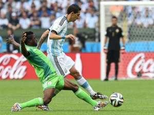 Angel Di Maria contra Nigeria