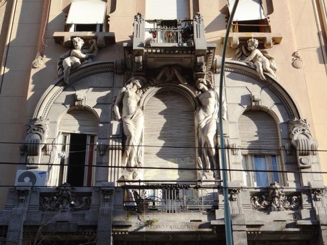 Balcones de la Casa Calise