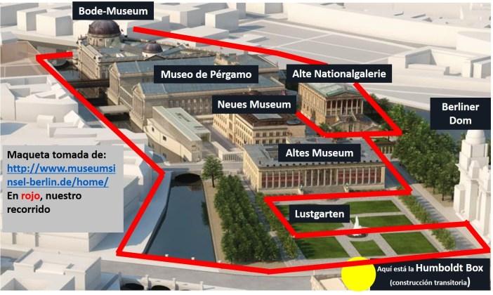 Maqueta de la Isla de los Museos 03