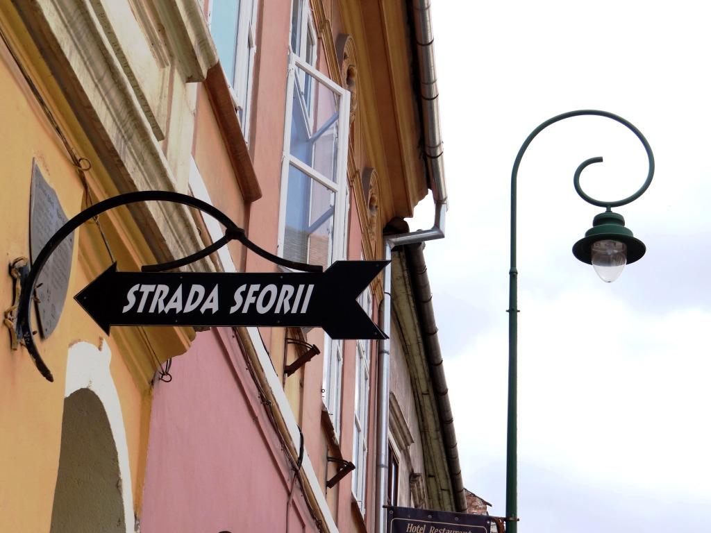 Brasov, Strada Sforii