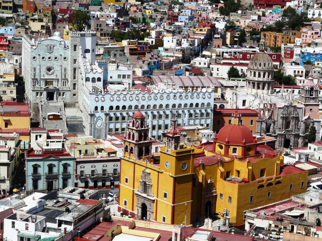 Guanajuato, León, México, panorámica 01