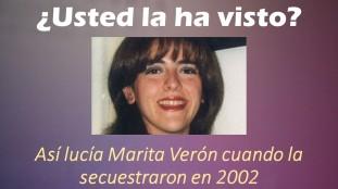 Así lucía Marita Verón en 2002 cuando la secuestraron