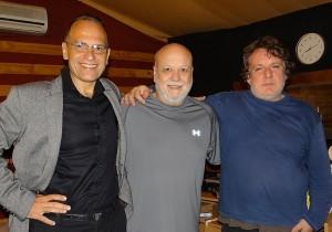 Pablo con Samy Mielgo y Marcelo Mollo