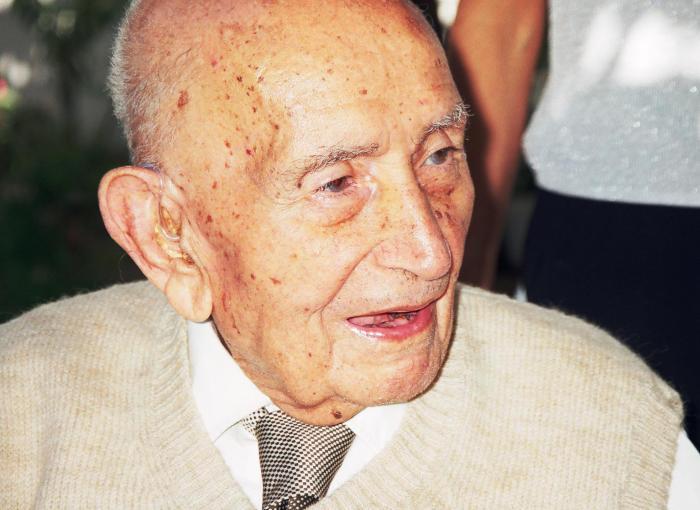 Agop Bedrossian (1900-2001), heroico sobreviviente del genocidio armenio perpetrado por los turcos