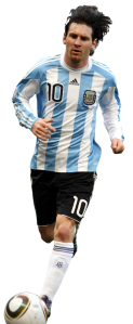 Lionel Messi recortado