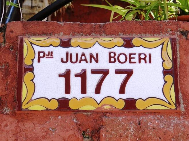 Calle Juan A. Boeri 01