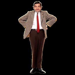 Mr.Bean sin fondo 01