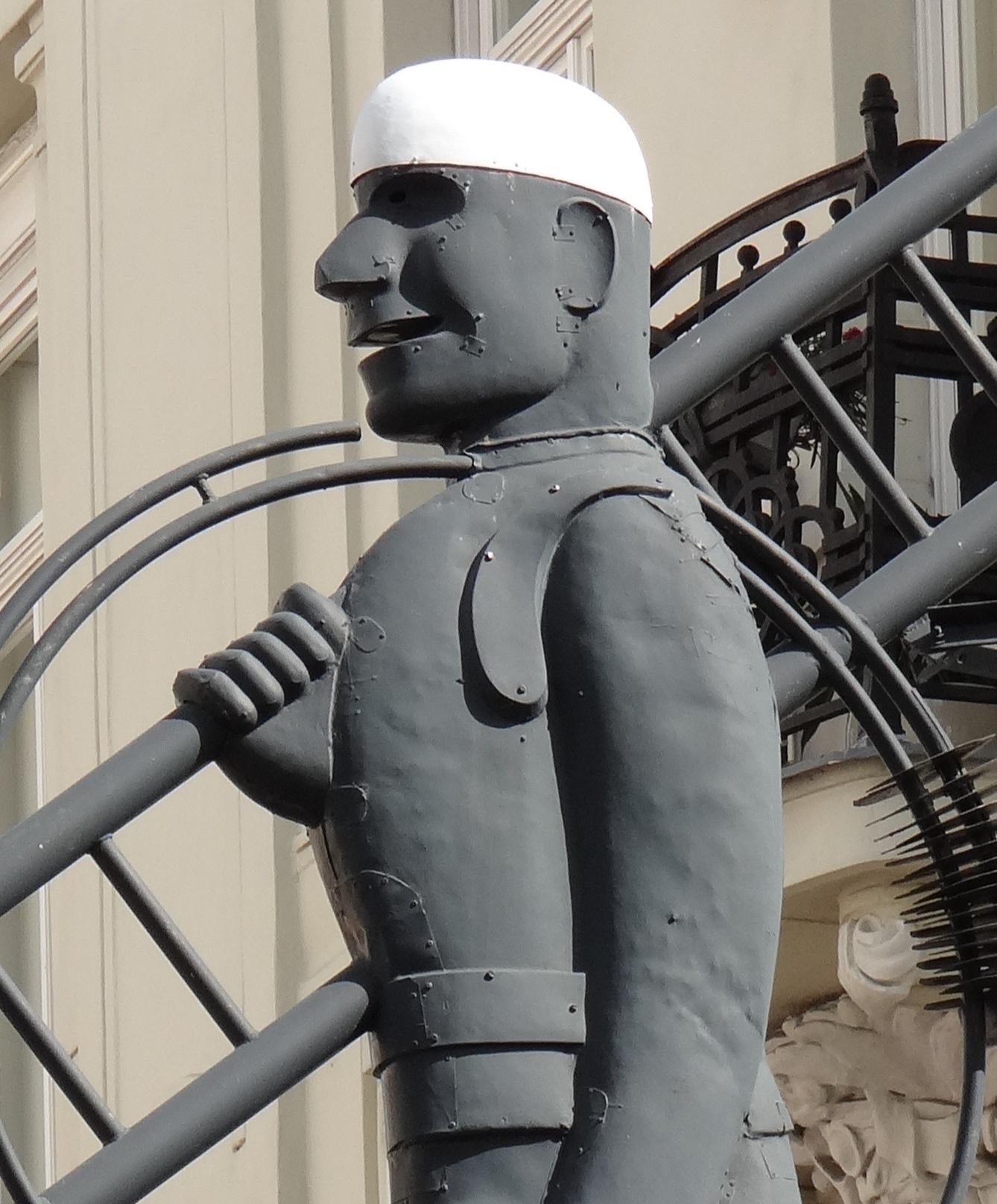 El Deshollinador u Hombre con escalera (Viena) DSC07506x