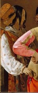 Mujer mano bolsillo