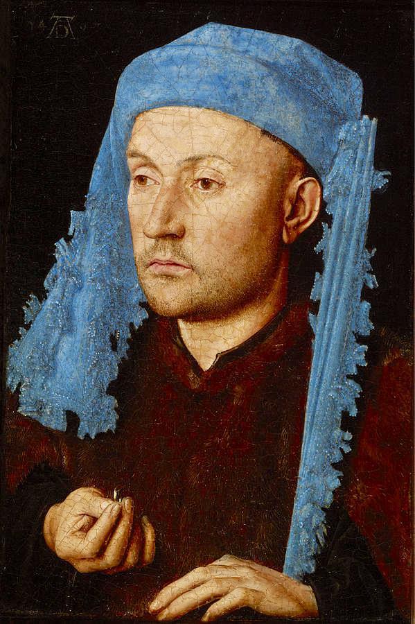 Hombre de Gorro Azul (Van Eyck)