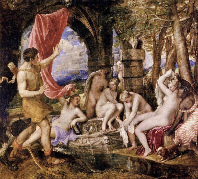 Diana y Acteon (Titian.org)