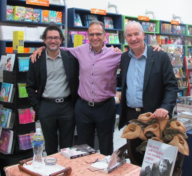 Pablo con Ruperto Long y José Molina