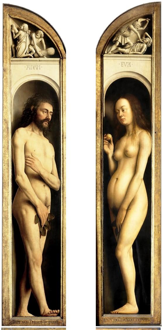 La Adoración del Cordero Místico 11 (Adán y Eva).jpg