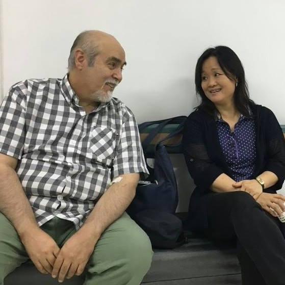Ernesto Casaccia y su esposa.jpg
