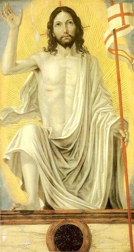 Cristo resucitado - Ambrogio Bergognone (1490)