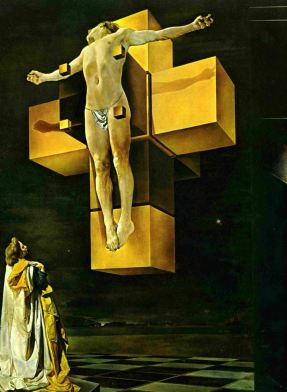 Crucifixión o Corpus Hypercubus - Salvador Dalí (1954)