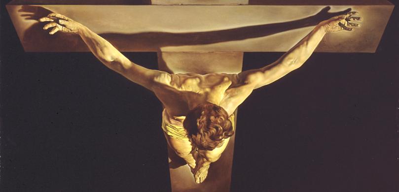 El Cristo de San Juan de la Cruz - Salvador Dalí (1951) 02