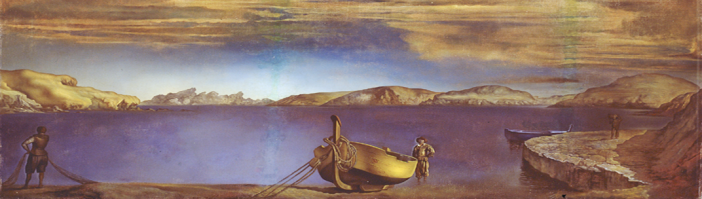 El Cristo de San Juan de la Cruz - Salvador Dalí (1951) 03.png
