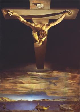El Cristo de San Juan de la Cruz - Salvador Dalí (1951)