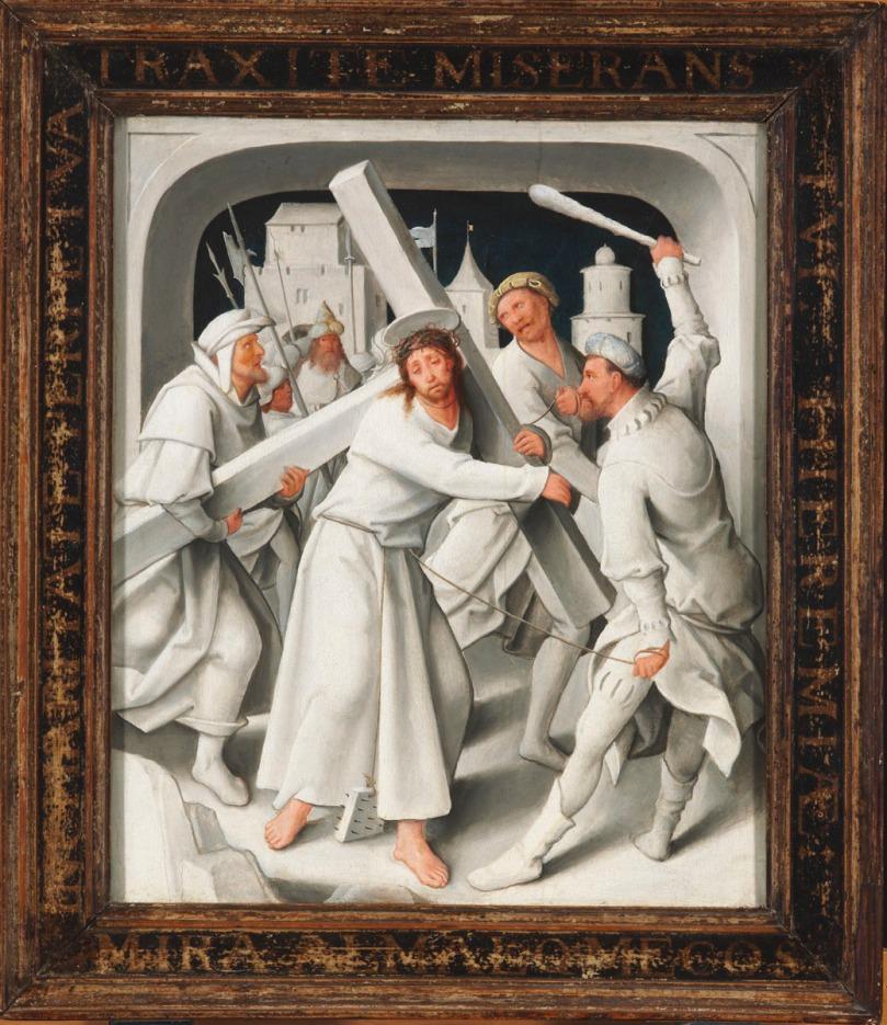 Jesús cargando la cruz 02