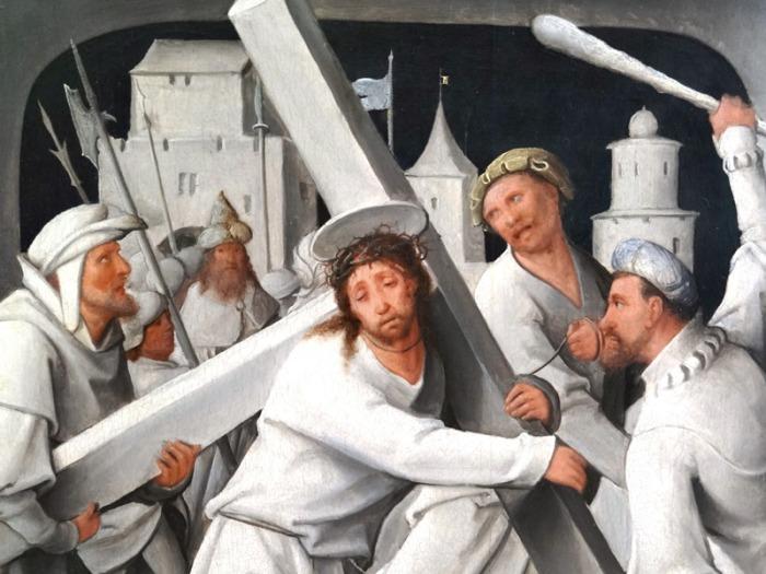Jesús cargando la cruz 03