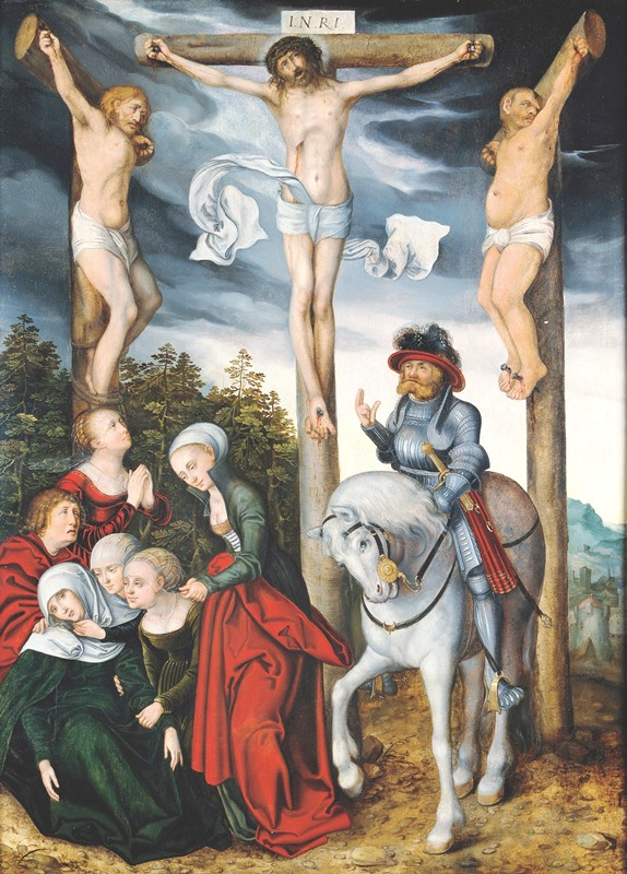 La crucifixión de Cristo (Lucas Cranach) 02
