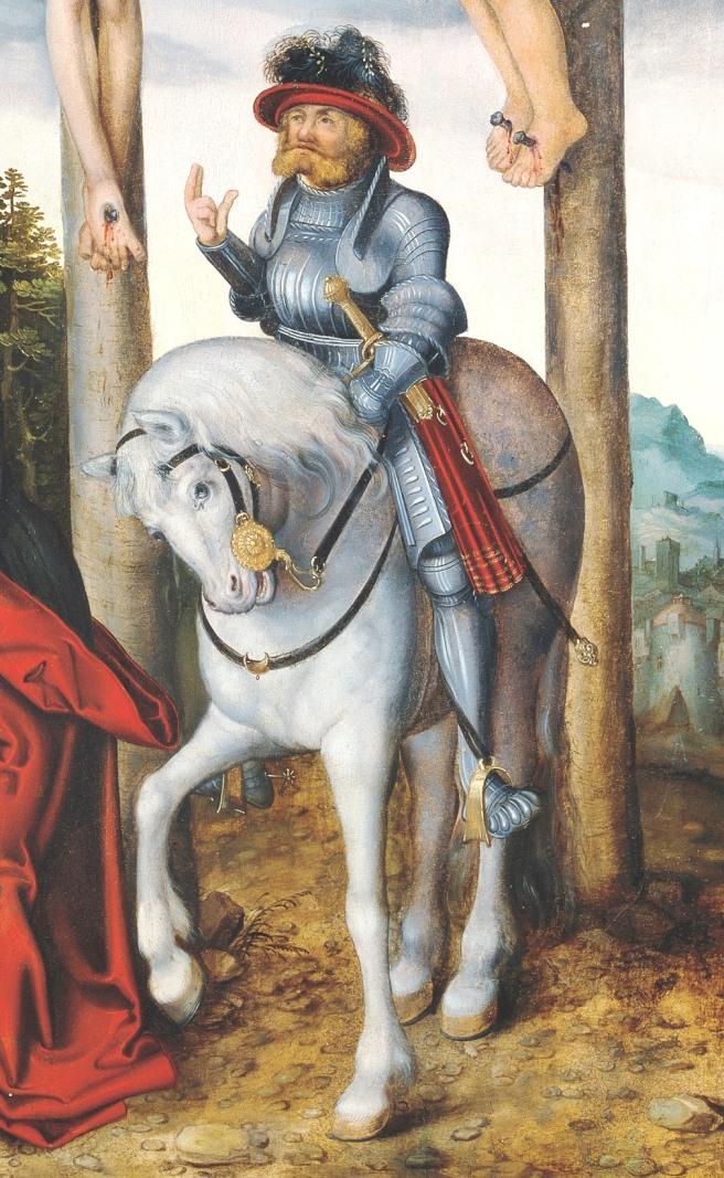 La crucifixión de Cristo (Lucas Cranach) 05
