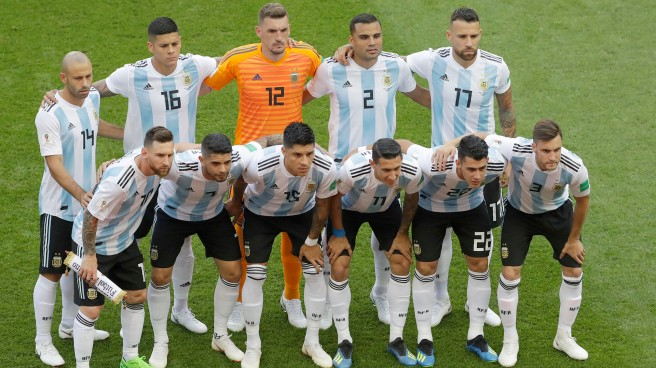 Russia Soccer WCup France Argentina