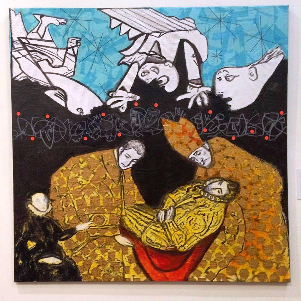 Crossover Guernica - El Entierro del Duque de Orgaz
