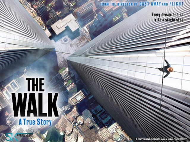 """""""THE WALK"""": UNA BUENA PELÍCULA SOBRE UNA GRAN HSTORIA (por Pablo R.Bedrossian)"""