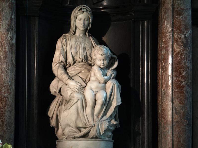 Madonna de Brujas 01 (Miguel Ángel)