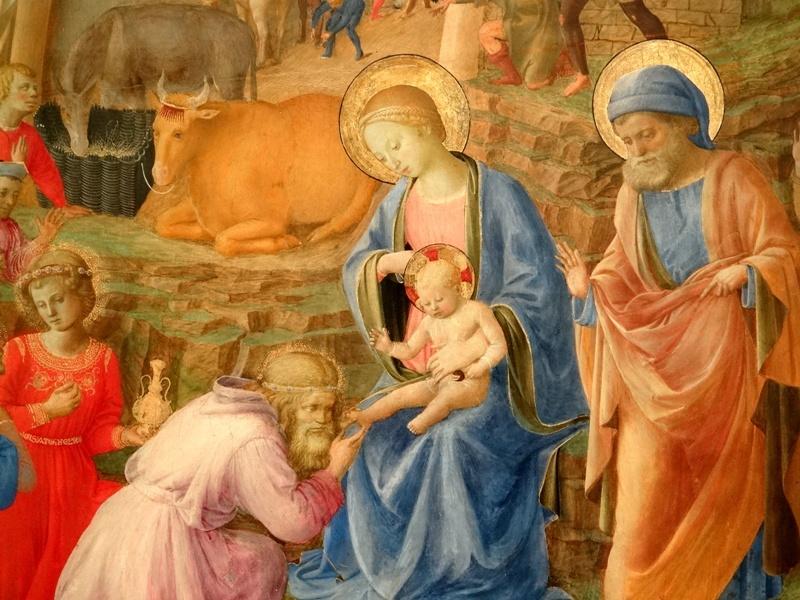La Adoración de los Magos (Fra Angelico)