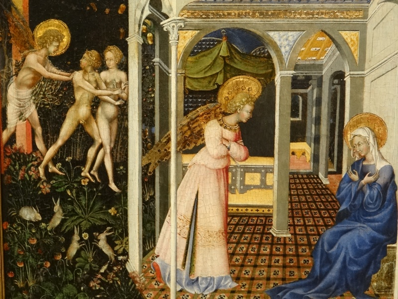 La Anunciación 01 (Giovanni Di Paolo)