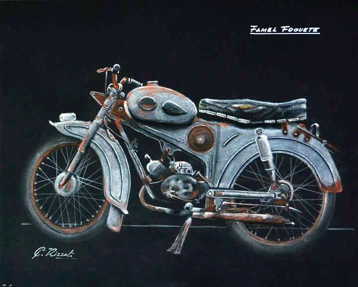 Motocicleta Famel Foguete